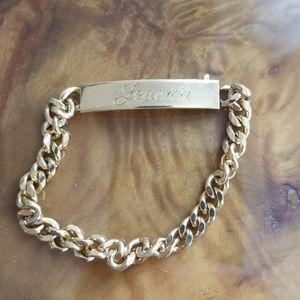 "Gold bracelet ""Jessica"""